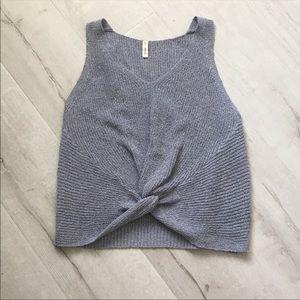 🎉5 for $25🎉 Wishlist Gray Knot Tank